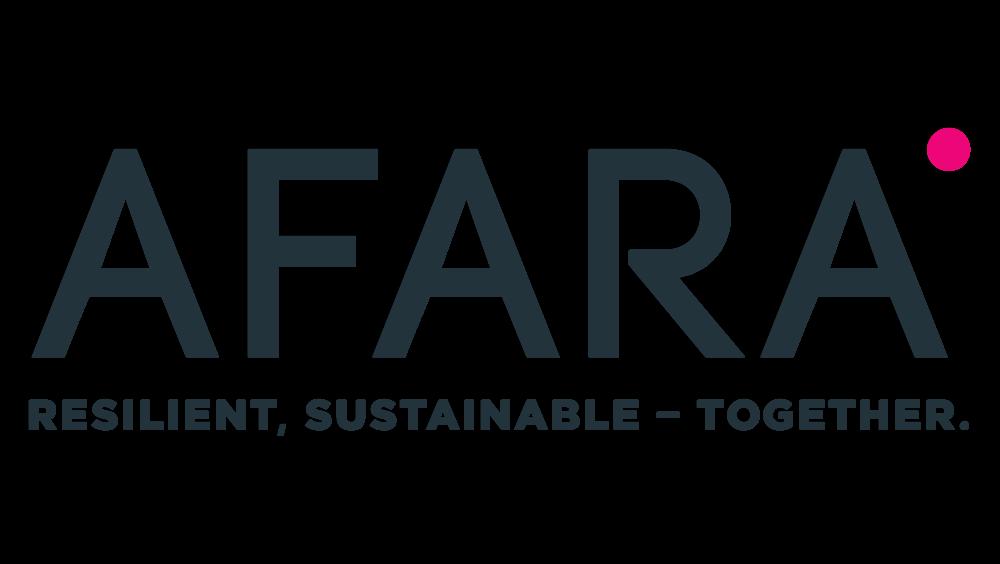 Afara_Logo w-Tagline Full Colour on Transparent